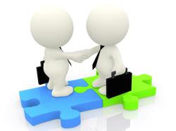 Santa Maria Short Sale Agent and buyer shake hands